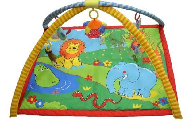 SIMPLE DIMPLE JUNGLE FRIEND ACTIVITY PLAYGYM