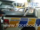 FORD RANGER T6 TOP UP WITH USE BACK ORIGINAL ROLL BAR, MAT BLACK COLOR WITH EASY DISMANTLE SYSTEM. FORD Top up Use Back Original Roll Bar