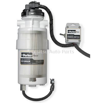 Pump and Filter Fuel Polishing System
