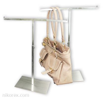 530104 - SS BAG STAND 2 SIDED TQ-021