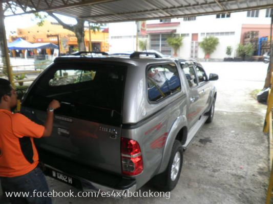SMART CANOPY FOR HILUX