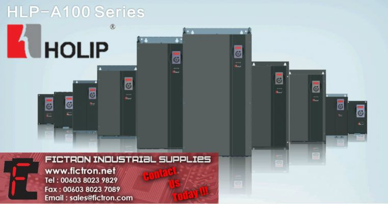 HLP-A1000D7521 0.75kW HLP-100 Series HOLIP Inverter Supply & Repair Singapore Thailand Indonesia Europe & USA