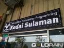 LED Signnoard Supplies & Installation - Johor Bahru Finished Sample