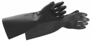 Black Knight Rubber Glove - BK39-18 Hand Protection Proguard - Safety Tools