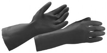 RUBBER GLOVE - Neoprene Glove Hand Protection Proguard - Safety Tools