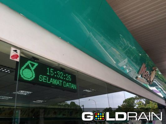 LED Display Signbrond Sample In Johor Area
