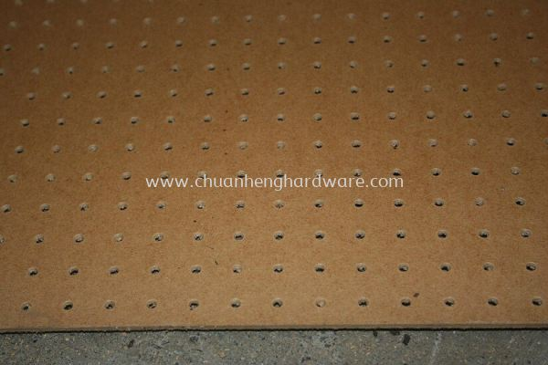 Peg Board 3mm 4ft x 8ft