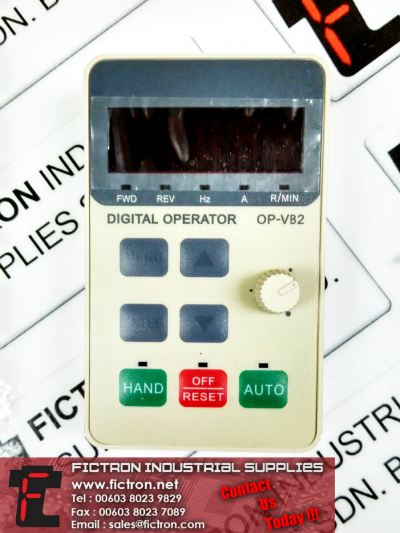 133B2036 OP-VB2 HOLIP Inverter Digital Operator Supply Singapore Thailand Indonesia Europe