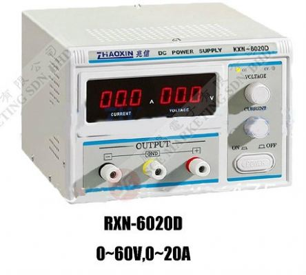 power supply CAN CHANGE RXN-6020D