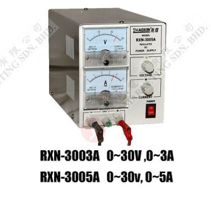 power supply CAN CHANGE RXN-3003A,RXN-3005A