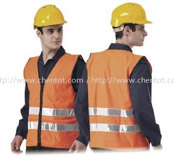 High Visibity Safety Vest - TCOR - 302-HG2 Safety Vest Safety Apparels