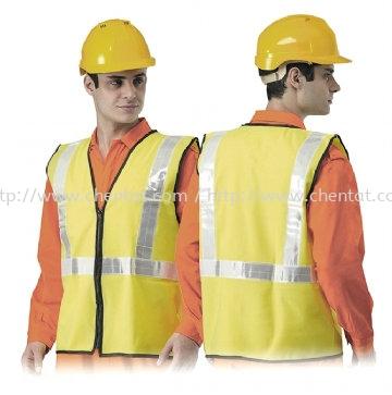 High Visibity Safety Vest -TC-VH3-HG Safety Vest Safety Apparels