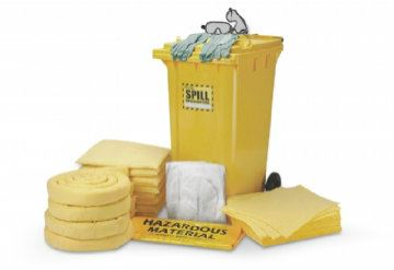 240 liter Dispender Cart Spill Kit - Chemical Only - SK573737 Spill Control Proguard - Safety Tools