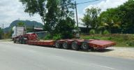 Heavy Duty Low Loader Trailer  Low Loader Trailer