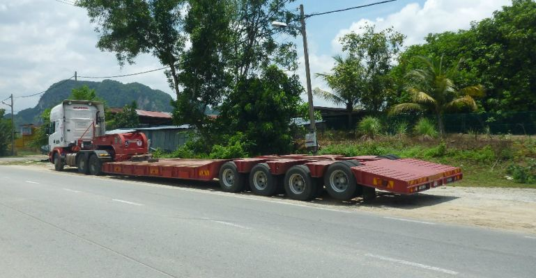 Heavy Duty Low Loader Trailer