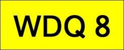 WDQ8 VVIP Plate