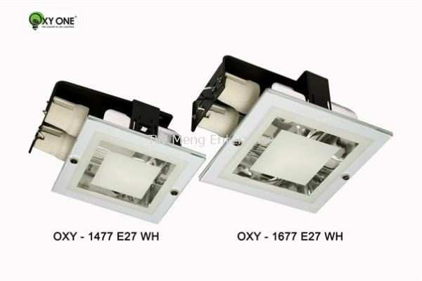 Conventional Down Light - OXY 1477 / OXY 1677 (WH)