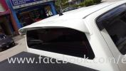 4x4 car spoiler FOR HILUX, TRITON,FORD RANGER T6, NISSAN NAVARA, ISSUZU D MAX, PAJERO V32, PAJERO LO,  Spoiler