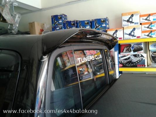 4x4 car spoiler FOR HILUX, TRITON,FORD RANGER T6, NISSAN NAVARA, ISSUZU D MAX, PAJERO V32, PAJERO LO