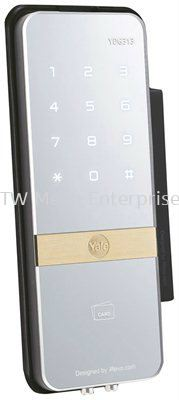 YDR 323 �C Digital Door Lock with PIN Code, RF Card Key & Remote Control (Optional) (Vertical Rim Lock for Wooden Doors)