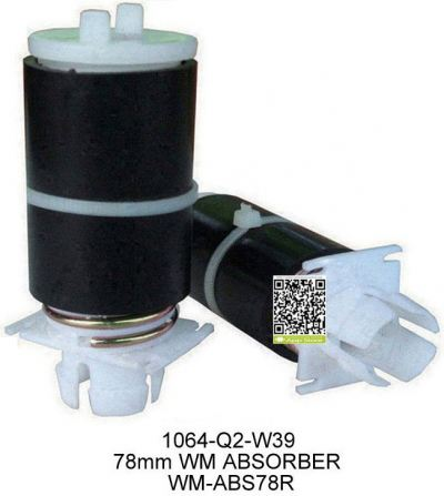 WM-ABS78R 78mm WASHING MACHINE MOTOR ABSORBER