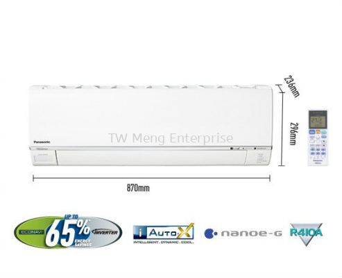 Single Split Air Conditioner - 1.5HP Premium Inverter Deluxe CS-S13RKH (CU-S13RKH)