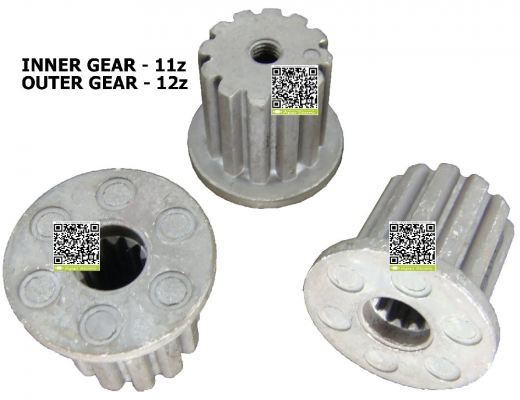WM-SG2753136 PANASONIC WASHING MACHINE PULSATOR SHAFT GEAR