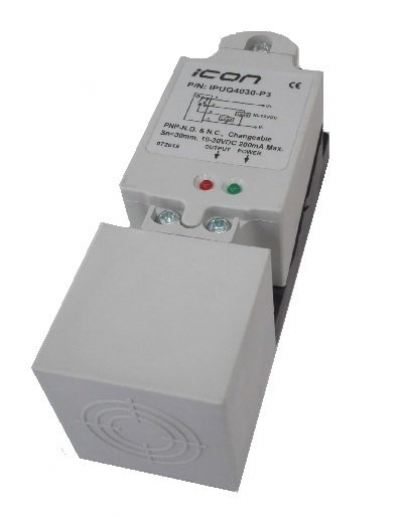 Q40 Square Type Proximity Sensor Malaysia Singapore Thailand Indonesia Philippines Vietnam Europe USA - iCON IPQ series
