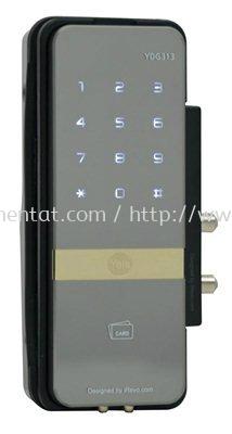 YDR 323 �C Digital Door Lock with PIN Code, RF Card Key & Remote Control (Optional) (Vertical Rim Lock for Wooden Doors)