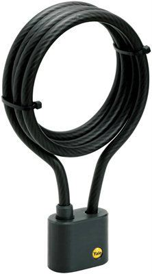 YCL1/10 - Yale High Security Keyed Cable Bicycle Lock