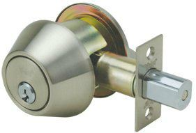 8411 - Yale 8400 Series Medium Heavy Duty Deadbolt (Cylinder and Thumbturn) Door Lock-Sets Security Locks