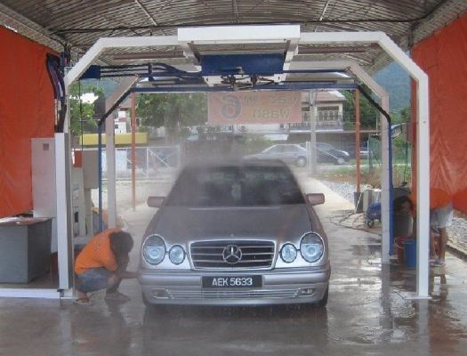 Touchless Free Car Wash Machine
