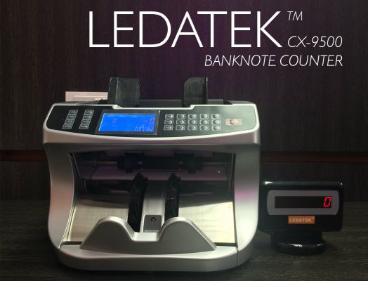 LEDATEK CX-9500 Banknote Counter