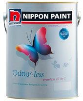 Odour~less Premium All-in-1 Nippon Paint