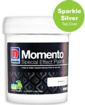 Momento® Textured Paint Series (Sparkle Silver) Nippon Paint