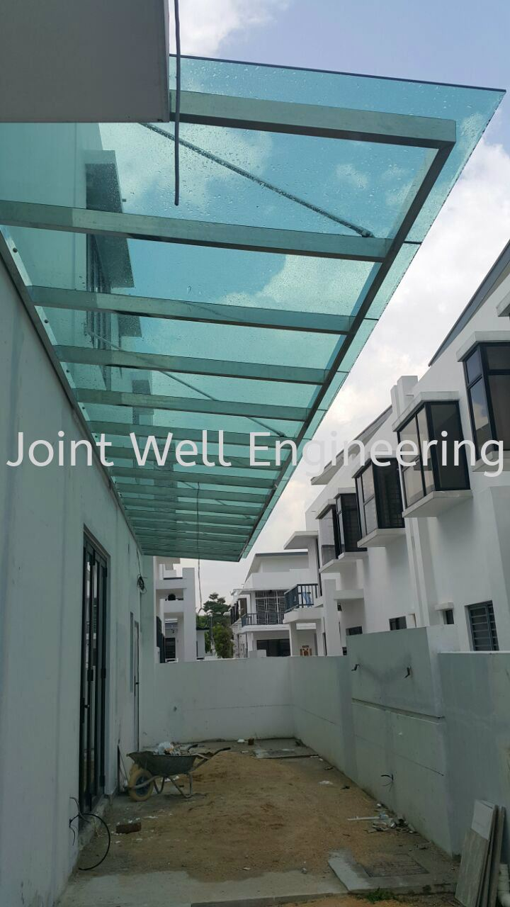 aluminium service index awning steel ba composite with panel stainless