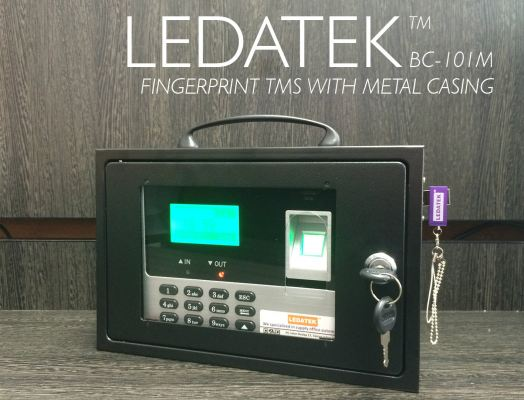 LEDATEK BC101M Biometric Time Attendance Machine