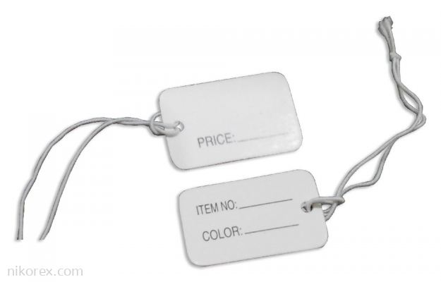 645003 - Jewelry Label 1.5x3cm (200pcs)