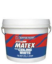 Super Matex Ceiling White 145 Nippon Paint