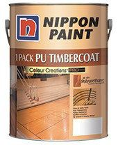 1 Pack PU Timbercoat (Pigmented Varnish - Gloss) Nippon Paint