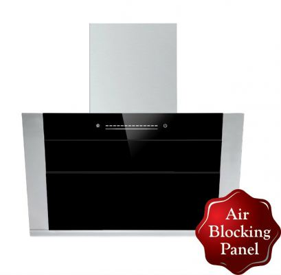 Kitch KCH-3288 Retractable Air Blocking Angled Cooker Hood