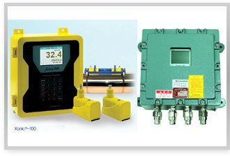 Ultrasonic Clamp-On Flowmeter Xonic-100L