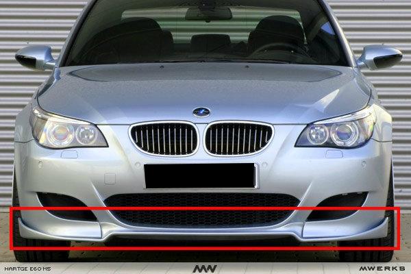 BMW E60 M5 Hartge front lips