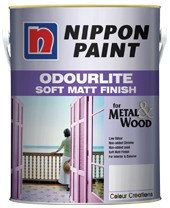 Odourlite Soft Matt Finish (Solid Wood) Nippon Paint