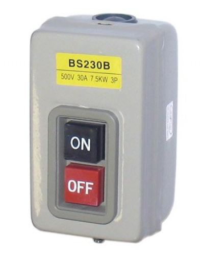 BS230B 3 Push Power Switch