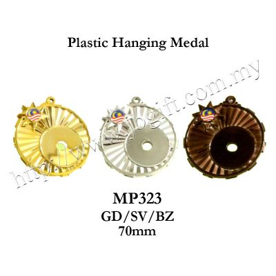 Plastic Hanging Medal MP323