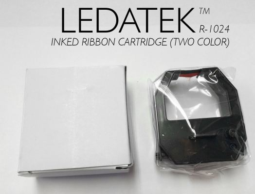 LEDATEK R1021 TIME RECORDER INKED RIBBON