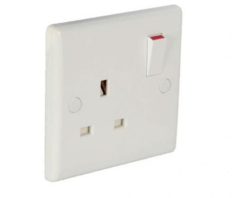 1 Gang Switch Socket