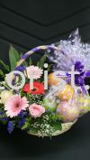 FFB16 - From : RM70.00 Floral Fruit Basket