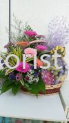 FFB17 - From : RM100.00 Floral Fruit Basket